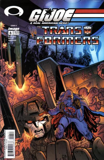 G.I. Joe vs Transformers vol 1.