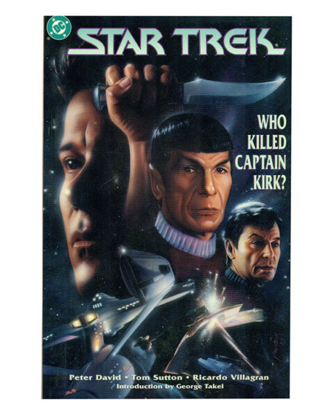 Star Trek: Who Killed Captain Kirk? tpb